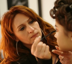 BACKSTAGE    MODEL LISA BENSCHOP