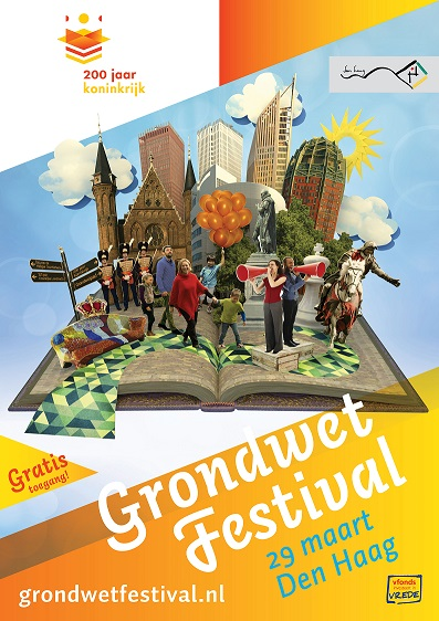 Grondwet Festival Poster kl
