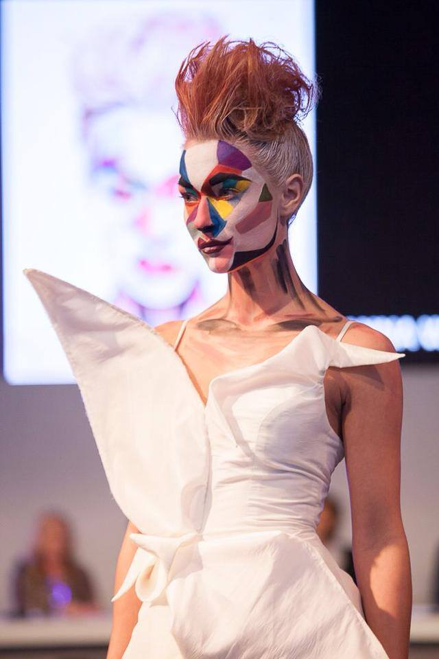 nederlandse makeup awards creation of Anna Wojnarowska 30-3-2014