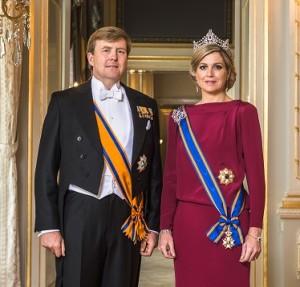 zm_de_koning Willem-Alexander_en_hm_de_koningin Maxima- april 2013 © RVD, foto Koos Breukel_kl