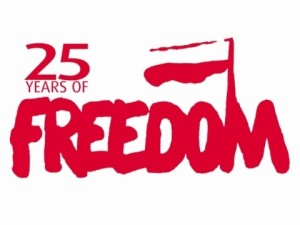 25 years of freedom
