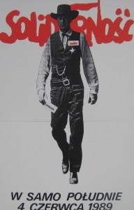 Plakat wyborczy czerwiec 1989