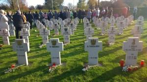 Breda 1-11-2014 Cemntarz przy Ettensebaan 161 grobow fot. Grzegorz Archacki
