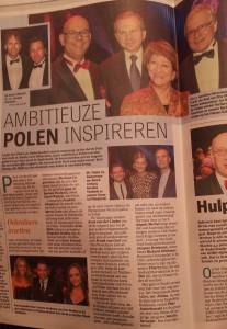 De Telegraaf 17-11-2014 over Polonus 2104 fot. Polonia.nl