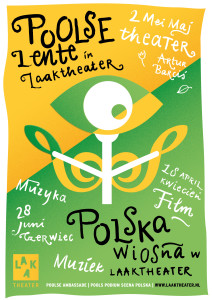 Poolse lente Laaktheater- affiche