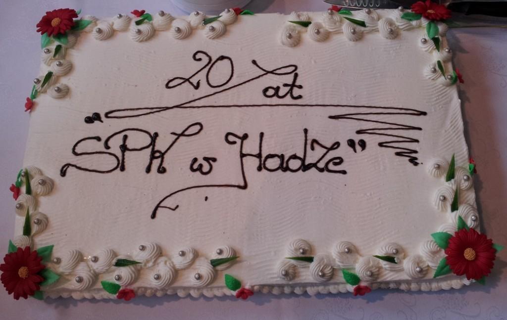 urodzinowy tort SPK 20lecie 7-11-2015