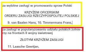 Monitor Polski 2007 Timmermans i van Baalen