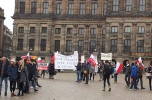 demonstracja Klub Gazety Polskiej Amsterdam 31-1-2016_2