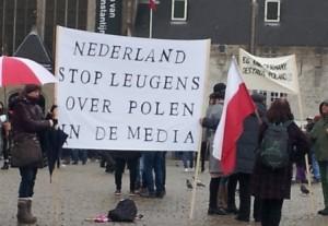 demonstracja Klub Gazety Polskiej Amsterdam 31-1-2016_4