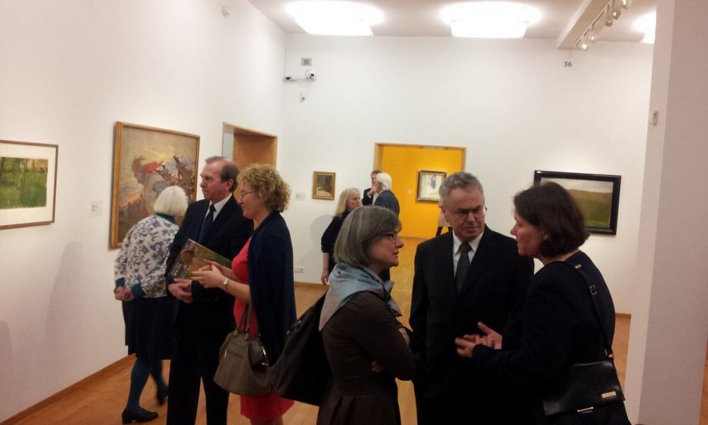 Otwarcie wystawy W Weiss Haga 18-3-2016