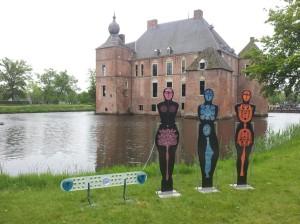 Poolse glaskunst Kasteel in Vaassen fot.Polonia.nl