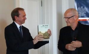 Ambasador Borkowski met De Pop van B Prus fot. J. Kalput.